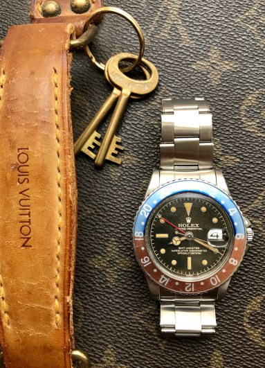 "Rolex ""The Full set Gilt GMT ref. 1675"" natural 2"