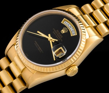 "Rolex ""The full set Onyx Day-Date ref. 18238"" 1"