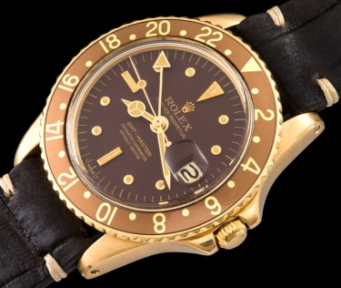 "Rolex ""The gold GMT ref. 1675"" 1"