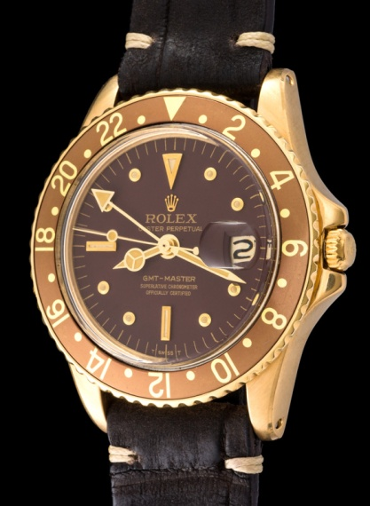 "Rolex ""The gold GMT ref. 1675"" 2"