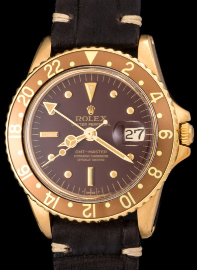 "Rolex ""The gold GMT ref. 1675"" 3"