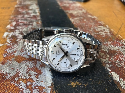 "Heuer ""The Steel Carrera"" nat 1"