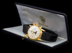 "Patek Philippe ""The yellow gold 2499 retailed by Gobbi"" 11"