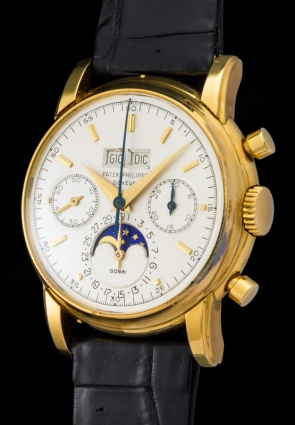"Patek Philippe ""The yellow gold 2499 retailed by Gobbi"" 2"