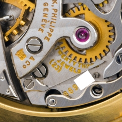 "Patek Philippe ""The yellow gold 2499 retailed by Gobbi"" 8"