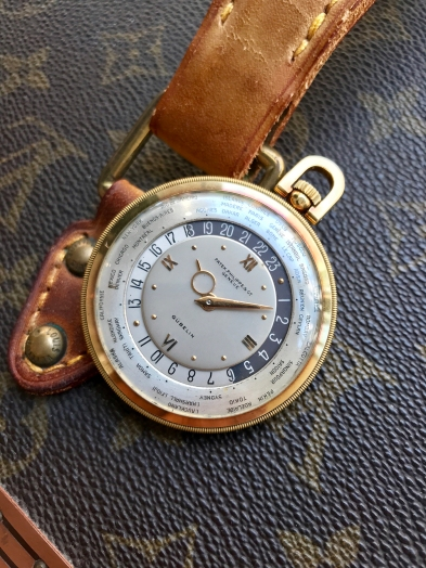 "Patek Philippe ""The yellow gold Worldtime pocketwatch retailed by Gübelin"" nat 2"