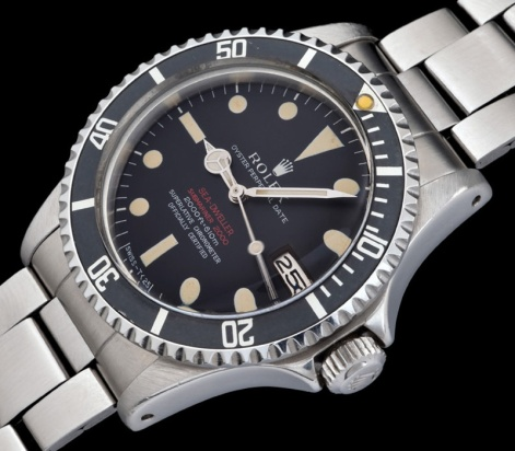 "Rolex ""The deep brown Double Red Seadweller ref 1665"" 1"