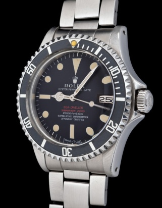 "Rolex ""The deep brown Double Red Seadweller ref 1665"" 2"