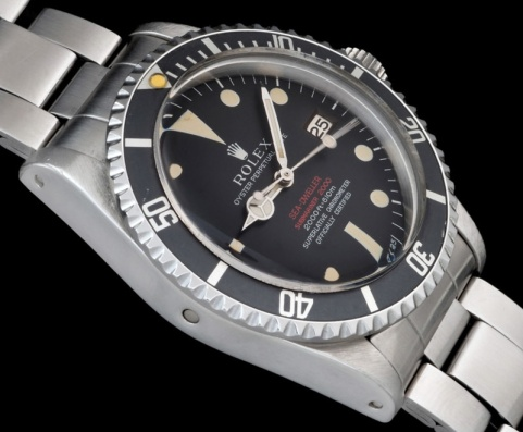 "Rolex ""The deep brown Double Red Seadweller ref 1665"" 3"