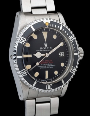 "Rolex ""The deep brown Double Red Seadweller ref 1665"" 4"