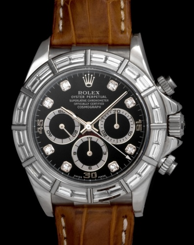 "Rolex ""The white gold & diamonds Zenith Daytona ref. 16589"" 3"