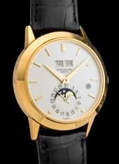 "Patek Philippe ""The yellow gold Perpetual Calendar ref.3450"""