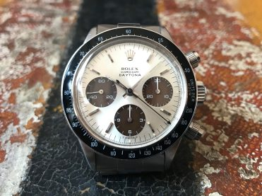 "Rolex ""The Tropical Brown registers Daytona ref. 6240"""