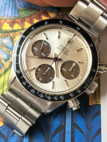 Rolex The Tropical Brown registers Daytona ref. 6240 nat 5