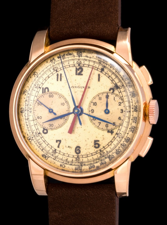 "Longines ""The pink gold Sommatore Centrale ref. 5161"""