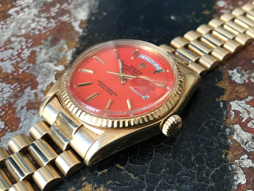 """Rolex """"The Lobster Stella dial Day-Date ref.1803"""""""