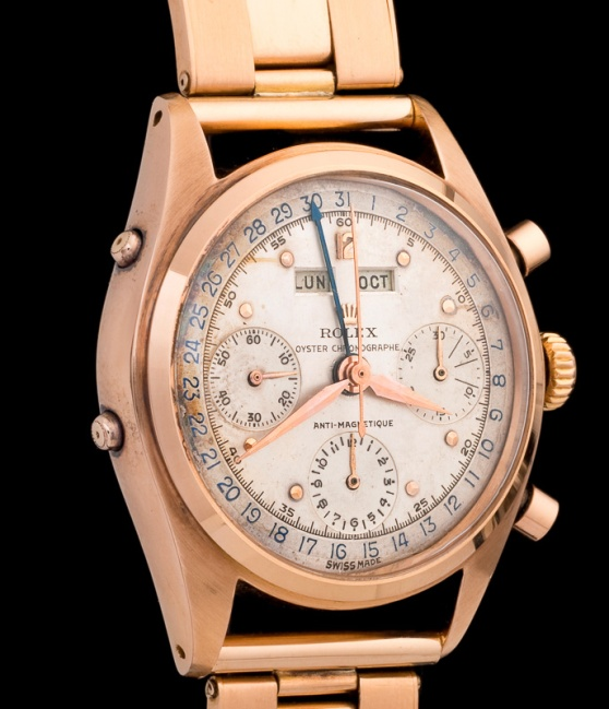 "Rolex ""The pink gold Jean Claude Killy ref. 6036"""