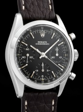 "Rolex ""The steel Black Pre-Daytona ref. 6238"""