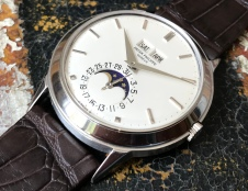"Patek Philippe ""The White gold Padellone ref. 3448"" natural 3"