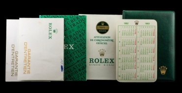 "Rolex ""The Full set Submariner ref. 16800"" 10"