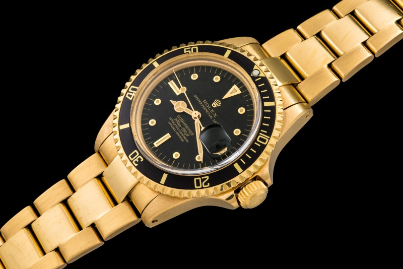 Rolex The Full set Meters First gold Submariner ref. 1680 0