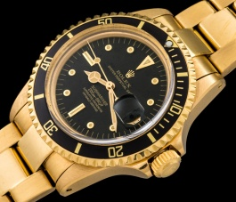 Rolex The Full set Meters First gold Submariner ref. 1680 1