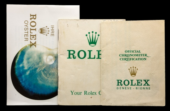 Rolex The Full set Meters First gold Submariner ref. 1680 12