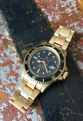 Rolex The Full set Meters First gold Submariner ref. 1680 natural 0