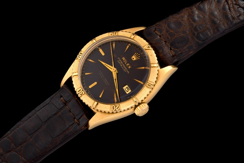 Rolex The gold Tropical Date-Just ref. 6609 0