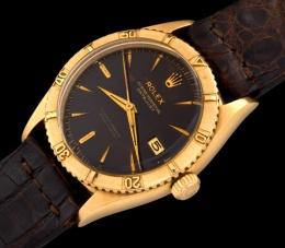 Rolex The gold Tropical Date-Just ref. 6609 1