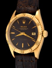Rolex The gold Tropical Date-Just ref. 6609 2