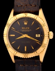 Rolex The gold Tropical Date-Just ref. 6609 3