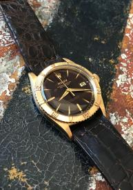 Rolex The gold Tropical Date-Just ref. 6609 natural 0