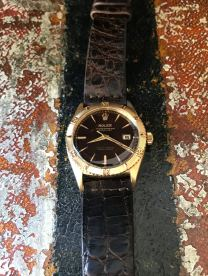Rolex The gold Tropical Date-Just ref. 6609 natural 1