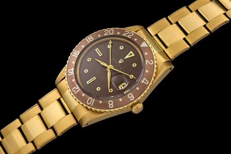 Rolex The Transitional Gold GMT-Master ref. 1675