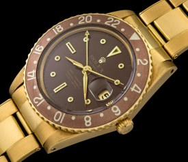 Rolex The Transitional Gold GMT-Master ref. 1675 1