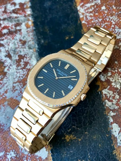 Patek Philippe The Full set Gold and Diamonds Nautilus ref. 3700:004 10