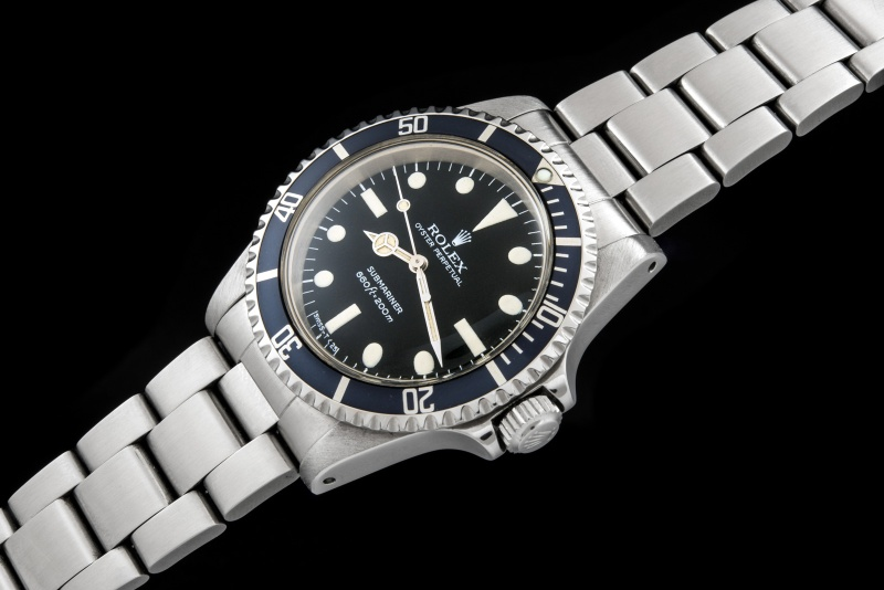 Rolex The Full set Submariner ref. 5513 Maxi Dial 0