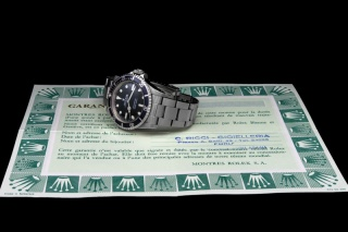 Rolex The Full set Submariner ref. 5513 Maxi Dial 12