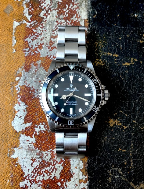 Rolex The Full set Submariner ref. 5513 Maxi Dial 13