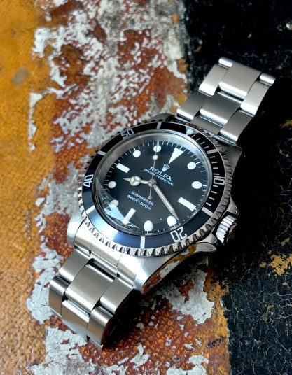 Rolex The Full set Submariner ref. 5513 Maxi Dial 14