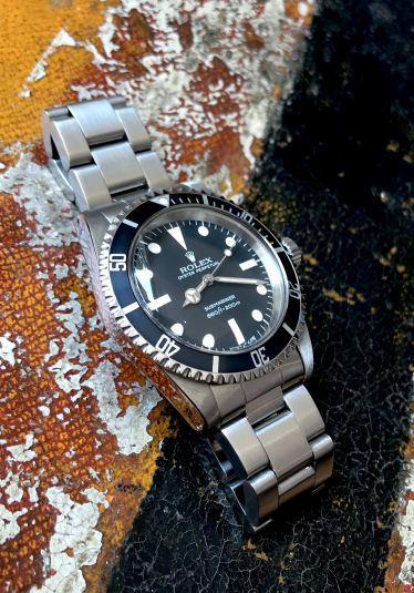 Rolex The Full set Submariner ref. 5513 Maxi Dial 15