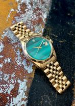 Rolex The gold Malachite DateJust ref. 1601 14