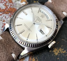 Rolex The white gold Day-Date ref. 1803 13