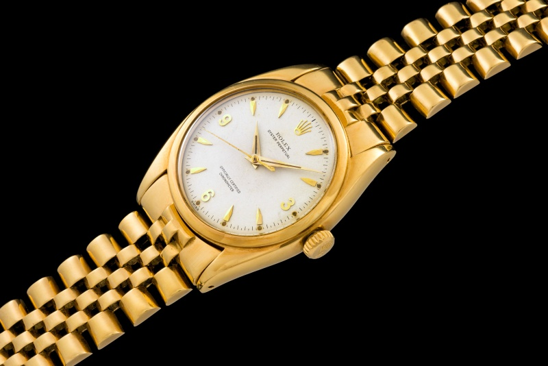 Rolex The yellow gold 3-6-9 Ovettone ref. 6098 0