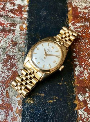 Rolex The yellow gold 3-6-9 Ovettone ref. 6098 13