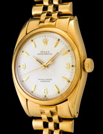 Rolex The yellow gold 3-6-9 Ovettone ref. 6098 2