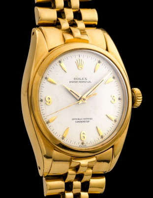 Rolex The yellow gold 3-6-9 Ovettone ref. 6098 4