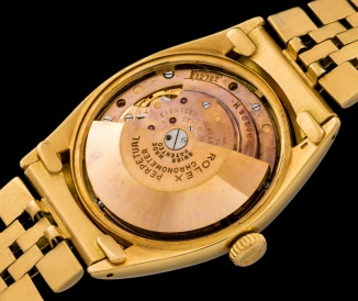 Rolex The yellow gold 3-6-9 Ovettone ref. 6098 6