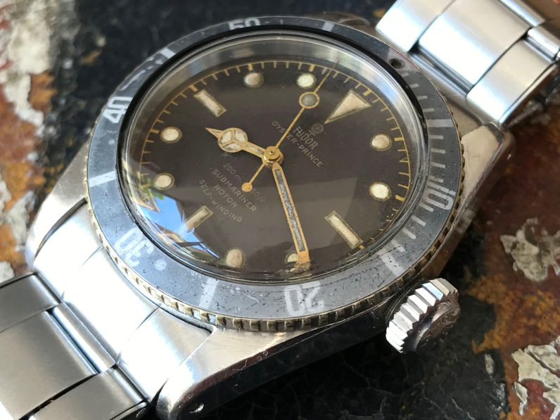 """Tudor """"The Tropical Big Crown Oyster Prince Submariner ref. 7924"""" 12"""